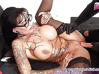 German femdom milf get fuck from slave with bit tits amateur brunette femdom