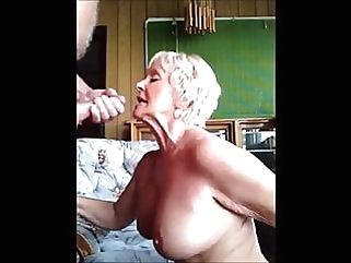 STUNNING WOMEN 6 (cum for them) blowjob mature facial