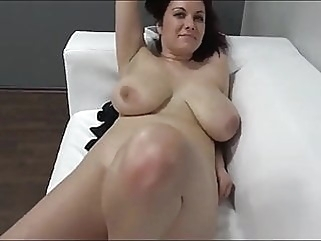Karolina On Casting amateur blowjob cumshot