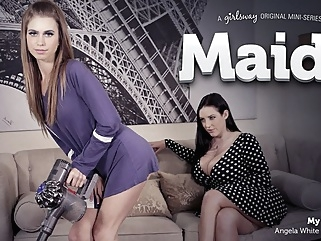 Angela White & Jill Kassidy in Maid For Each Other: My M.A.I.D.D. - GirlsWay cunnilingus fingering lesbian