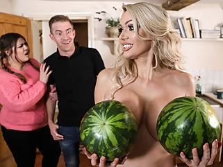 Amber Jayne & Danny D in New To Nudism - BRAZZERS big tits blonde british