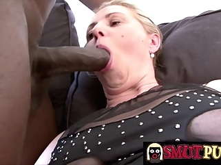 Smut Puppet - Matures Show off Their BBC Sucking Skills Compilation Part 5 big cock blonde blowjob