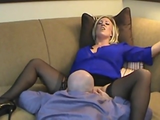 Smoking hot stepmom son roleplay babe blonde cumshot