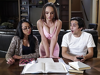 Cytherea & Ricky Spanish in Disciplining The Squirt - BRAZZERS big tits brunette milf
