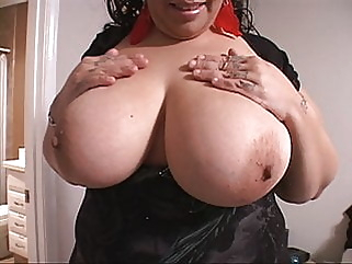 Desperate Busty Latina MILF With A Big Butt Will Work For Food! anal blowjob bbw