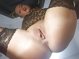 Sat on the face of a stranger in a cafe upskirt bdsm femdom