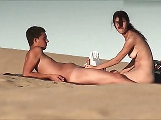 nudist couple amateur beach teen