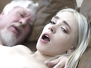 College student has sex with an ugly old fuck super hard blowjob cumshot hardcore