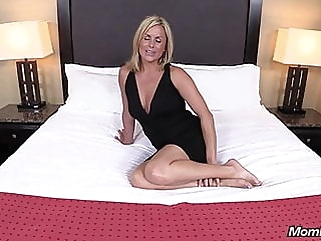 MILF POV - Lexi blonde blowjob mature