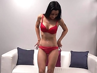 Mature lady came to the casting and showed off his perfect body on cam... big tits casting cumshot