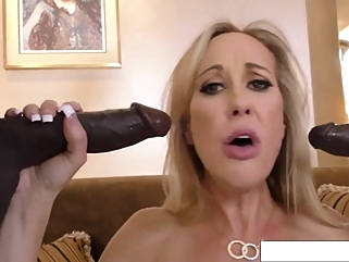 Brandi Love - Cuckold Session + BTS behind the scenes big tits blowjob