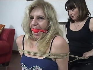 Mature Blonde Bondage bdsm blonde fetish