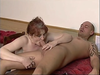 Ivana Barova in bite me granny big tits blowjob mature