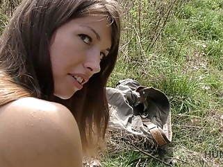 HUNT4K. Cash makes pretty babe Susan Ayn ready for blowjob and anal in park cuckold pov teens