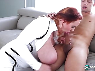 Beautiful naturally busty redhead bbw nipples hd videos