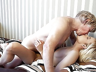 Grandpa has sweet sex with his young 19 year old girlfriend top rated girlfriend pussy