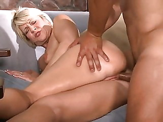 Hot blonde mature anal anal blonde gaping