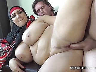 Sex with Muslims in hijabs blowjob close-up milf