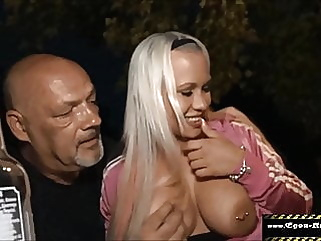 Your cuckold films me fucking you at the party amateur blowjob big boobs